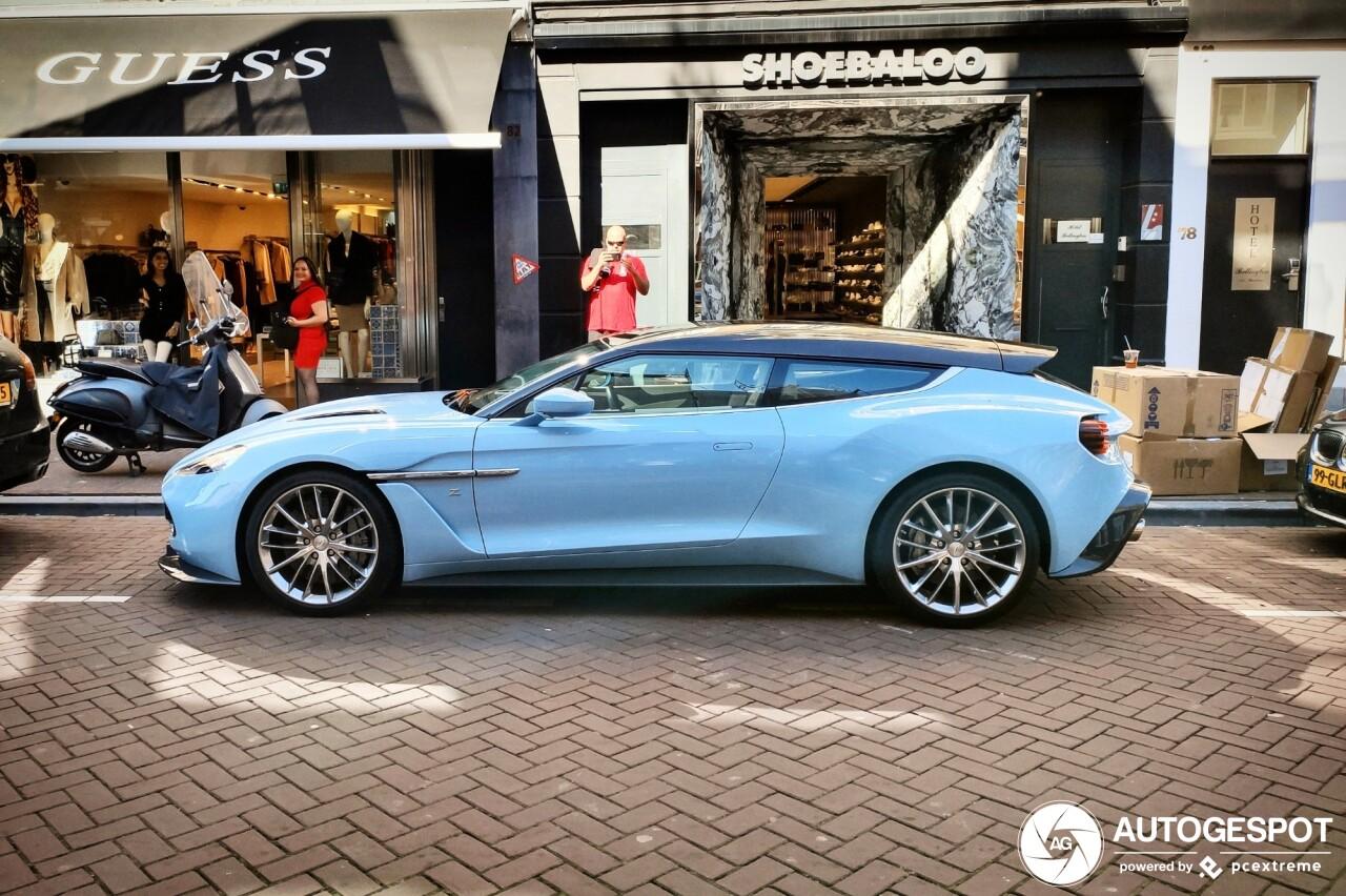 Spot van de dag: Aston Martin Vanquish Zagato Shooting Brake!