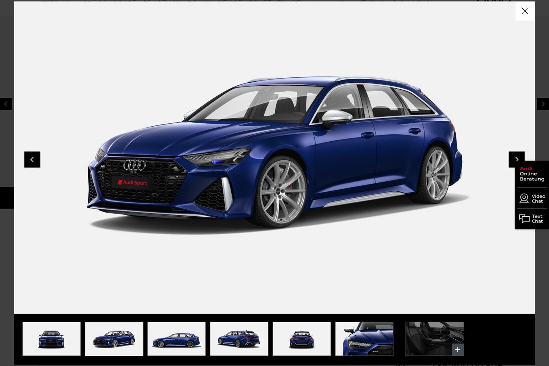 Configureren maar: de nieuwe Audi RS6 & RS7