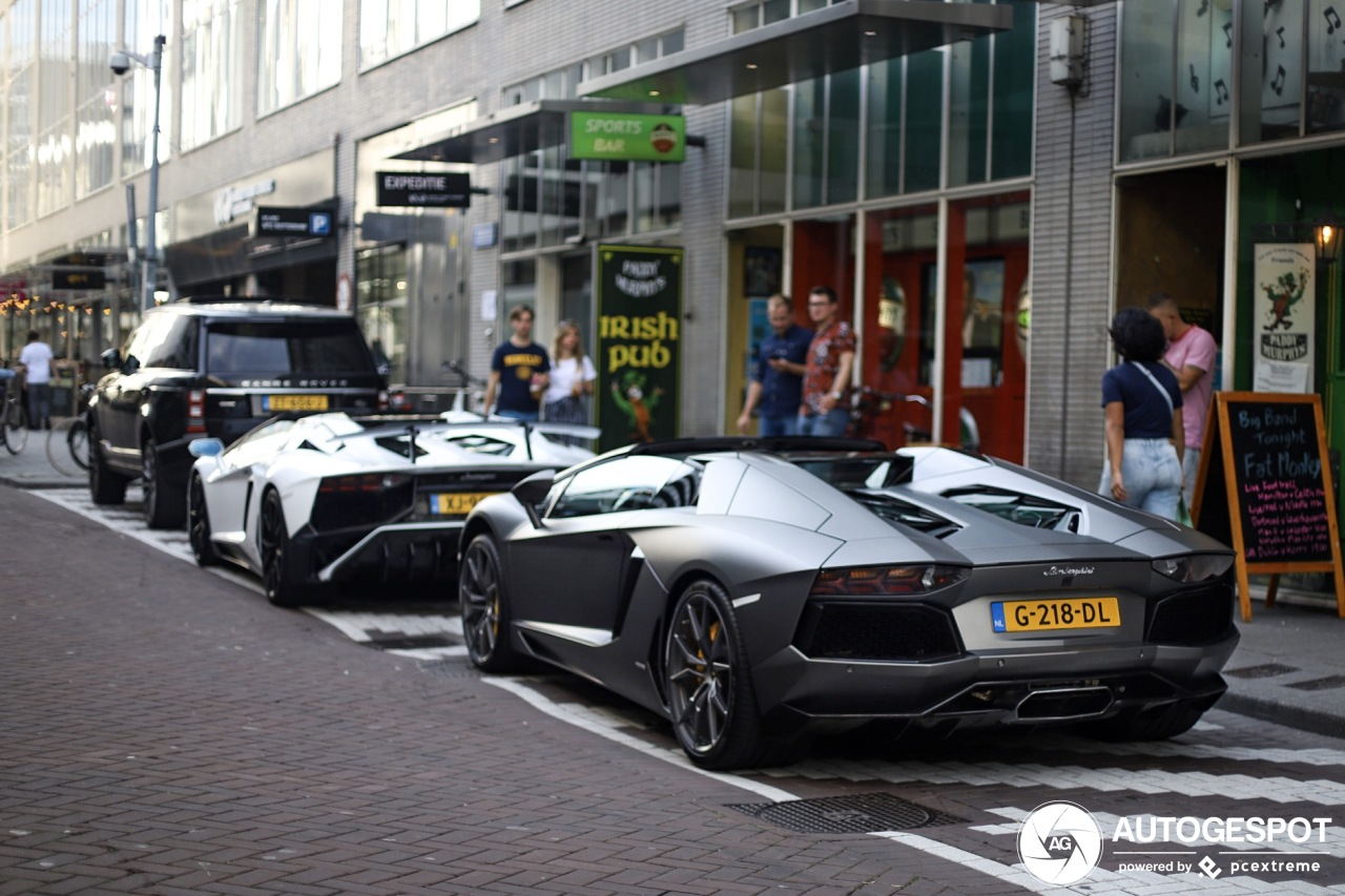 Spot van de dag: Aventador combo in Rotterdam!