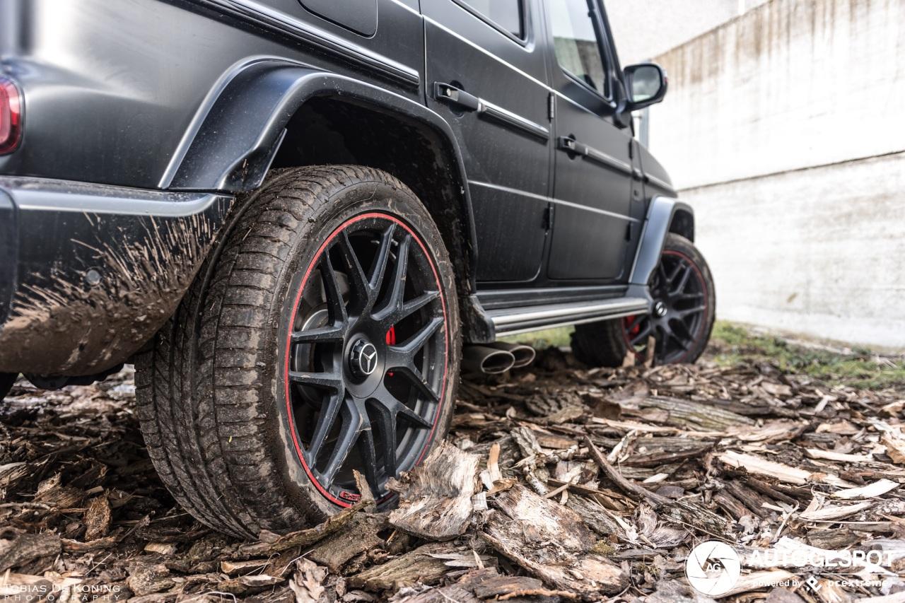 G63 AMG zoekt roots in de modder