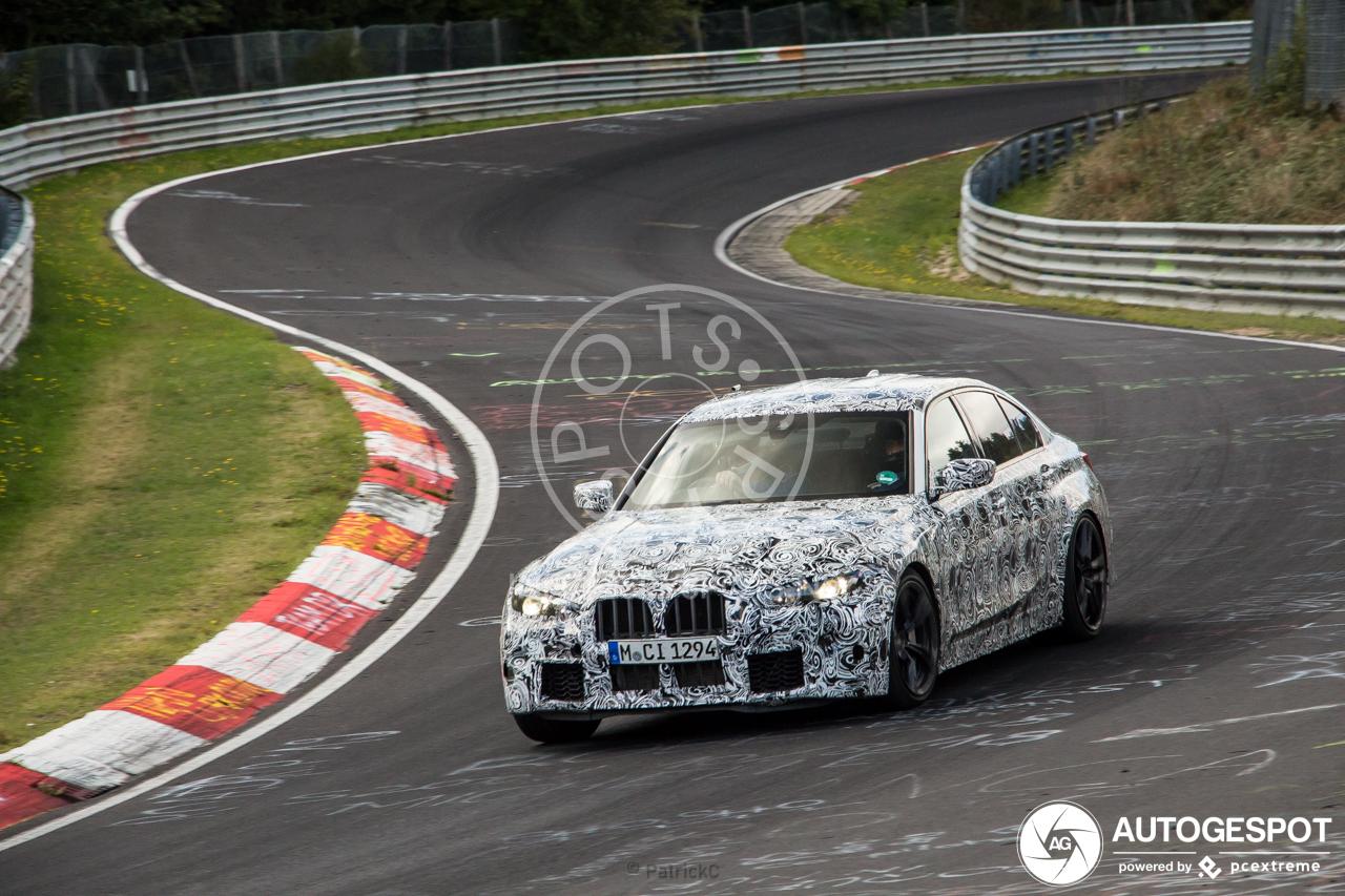 BMW werkt hard aan de nieuwe M3