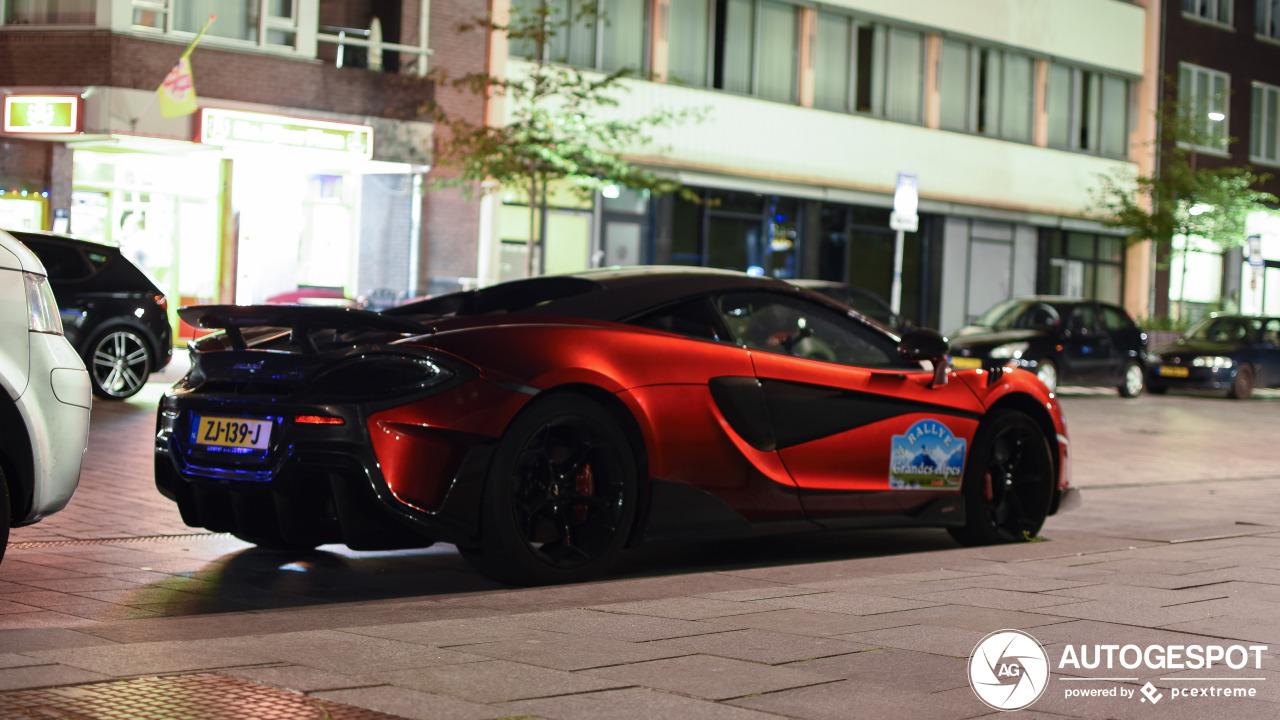Spot van de dag: McLaren 600LT