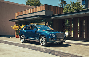 Bentley announces first step towards electrification: Bentayga Hybrid