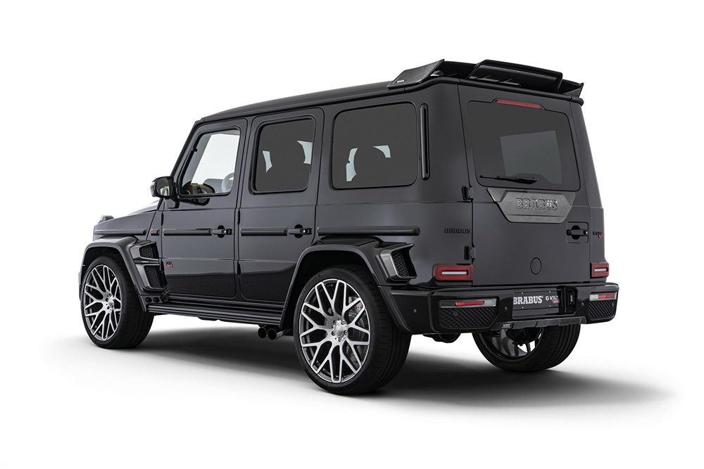 "Brabus goes crazy: G V12 900 ""One of Ten"""