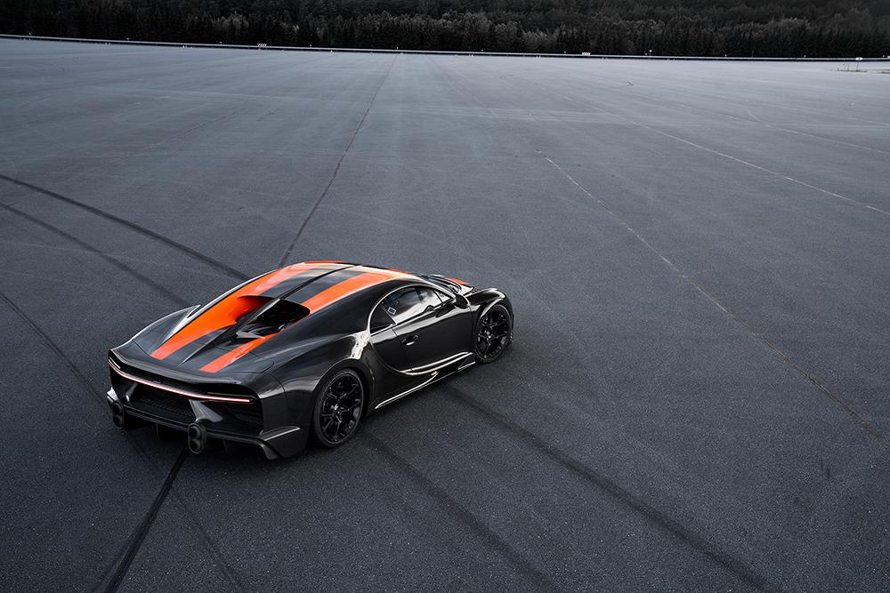Bugatti breekt snelheidsrecord met Chiron Prototype