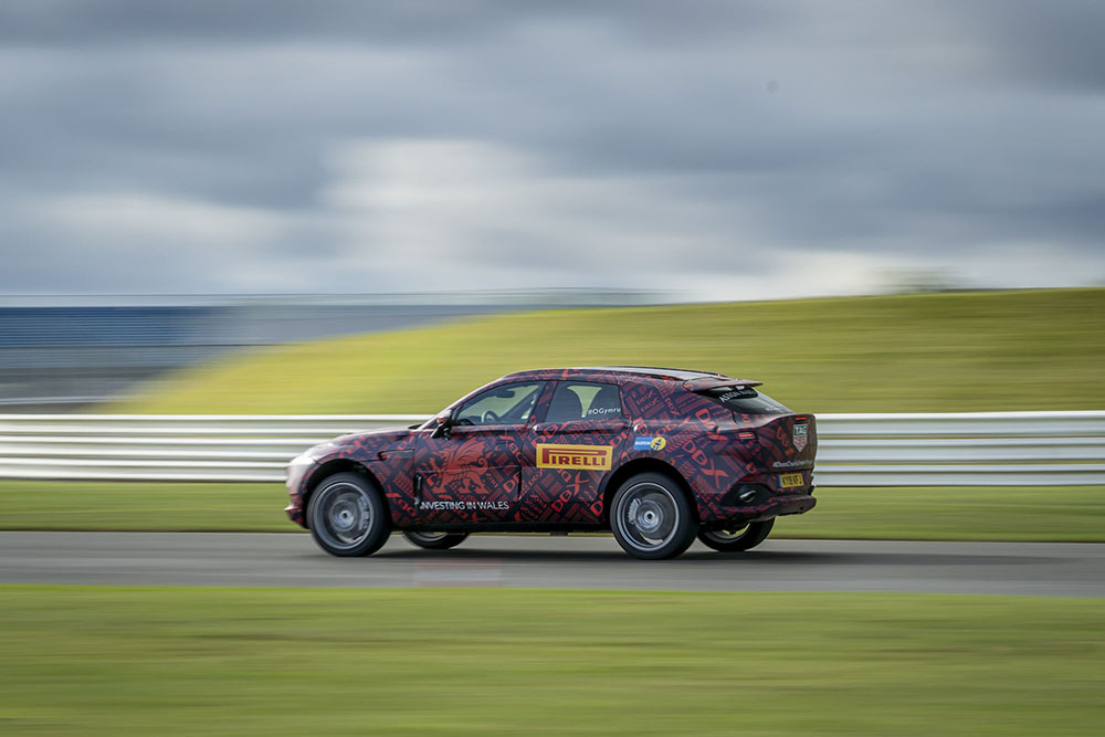 Aston Martin releases information about DBX