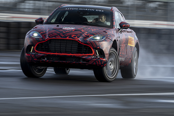 Aston Martin geeft cijfers over de DBX vrij