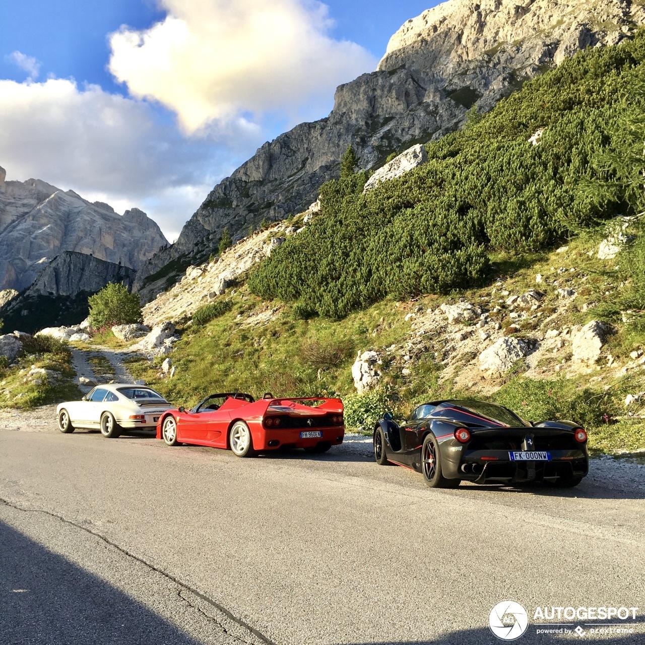 Heerlijk trio gespot in de Italiaanse bergen