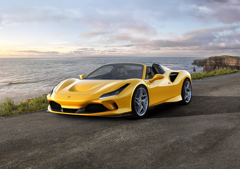The Ferrari F8 Spider: the evolution of the species