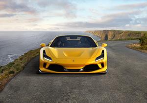 Ferrari laat nu al de F8 Spider zien