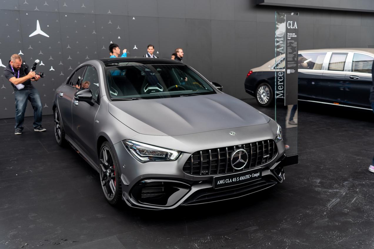 IAA 2019: Mercedes-AMG A 45 S & CLA 45 S