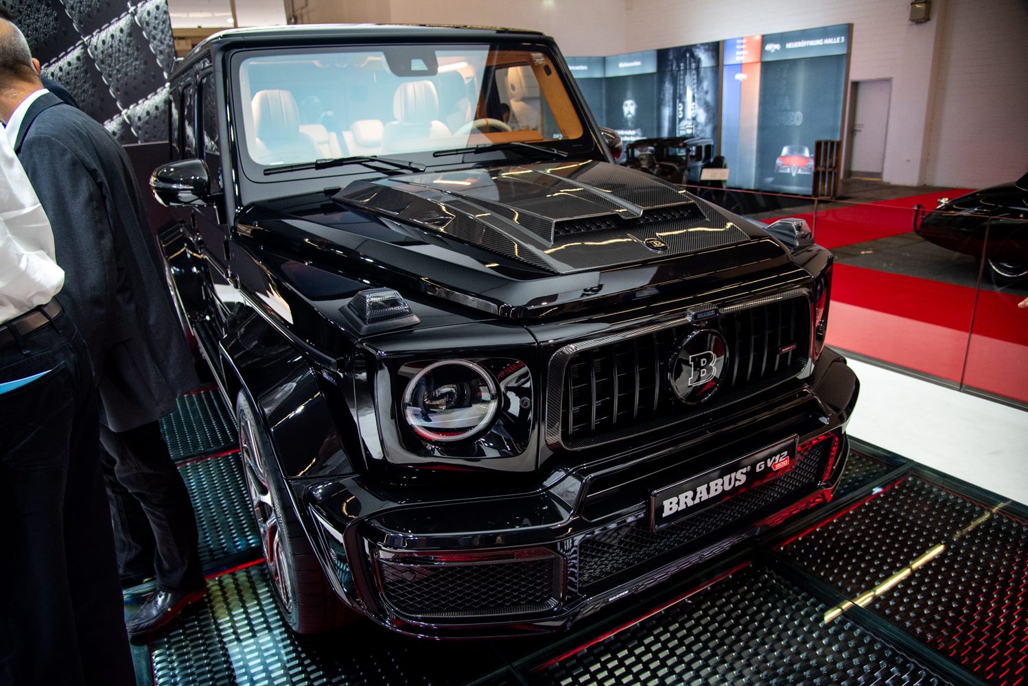 IAA 2019: Brabus G 900 V12 'One of Ten'