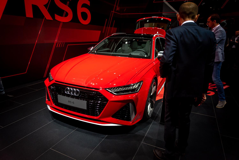 IAA 2019: Audi RS6 Avant C8