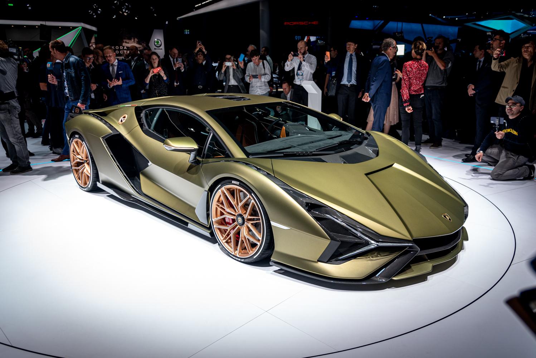 IAA 2019: Lamborghini Sián