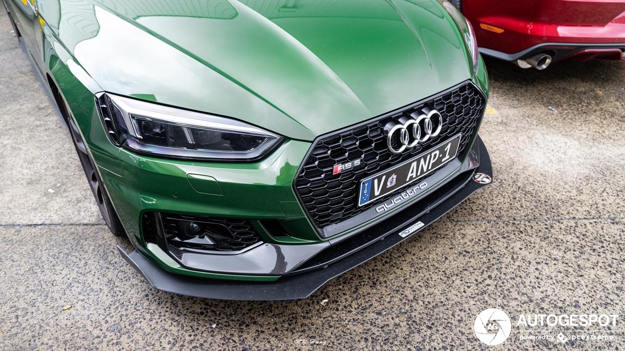Australische Audi RS5 blijft niet standaard