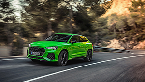 Audi toont ons de RS Q3 en RS Q3 Sportback