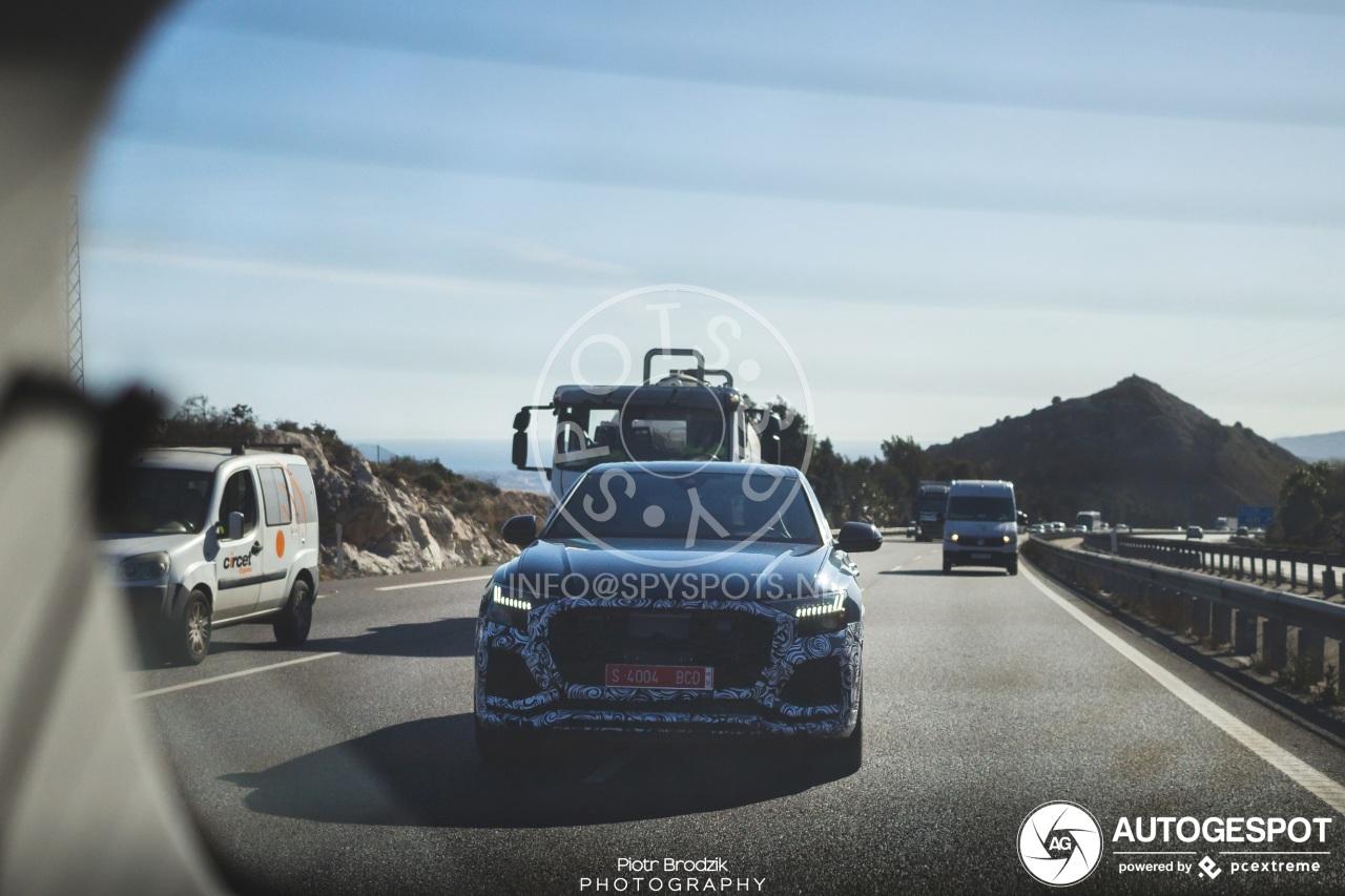 Audi zal ons niet lang meer op de RS Q8 laten wachten