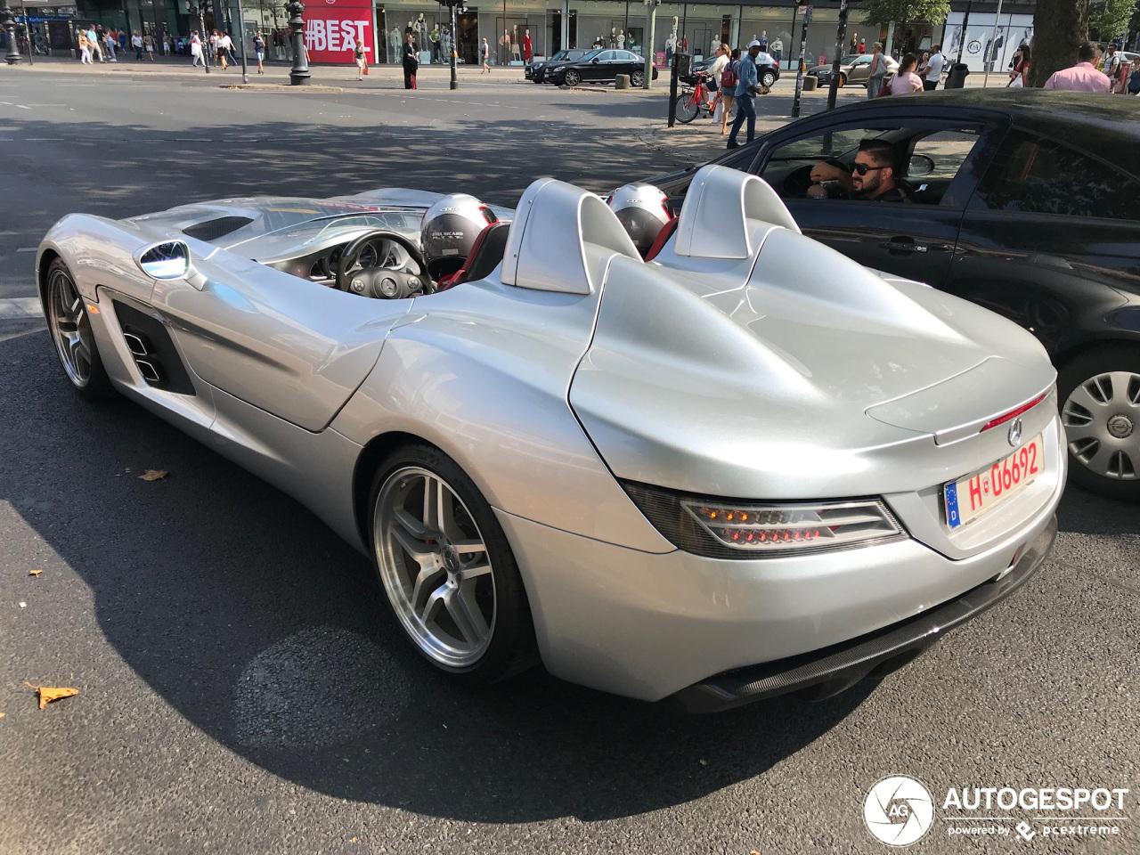 Mercedes-Benz SLR McLaren Stirling Moss doet Berlijn aan