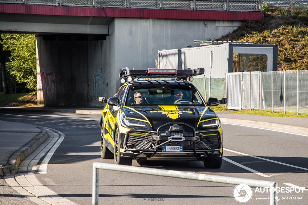 Lamborghini Urus gaat dienst doen als rescue car