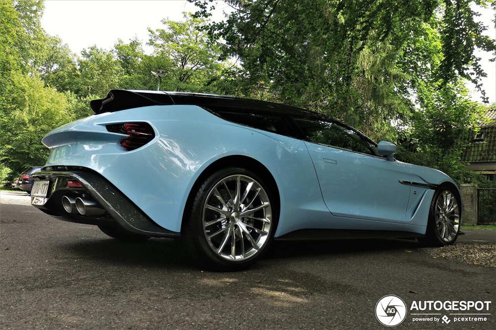 Blijft indrukwekkend: Aston Martin Vanquish Zagato Shooting Brake