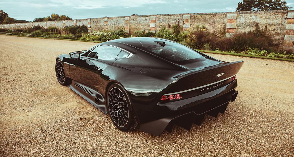Aston Martin Victor is alles wat andere auto's niet zijn