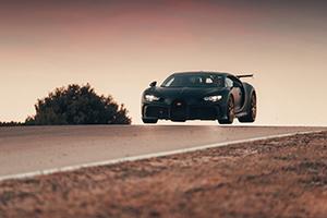 Het testen zit erop, Bugatti Chiron Pur Sport in productie