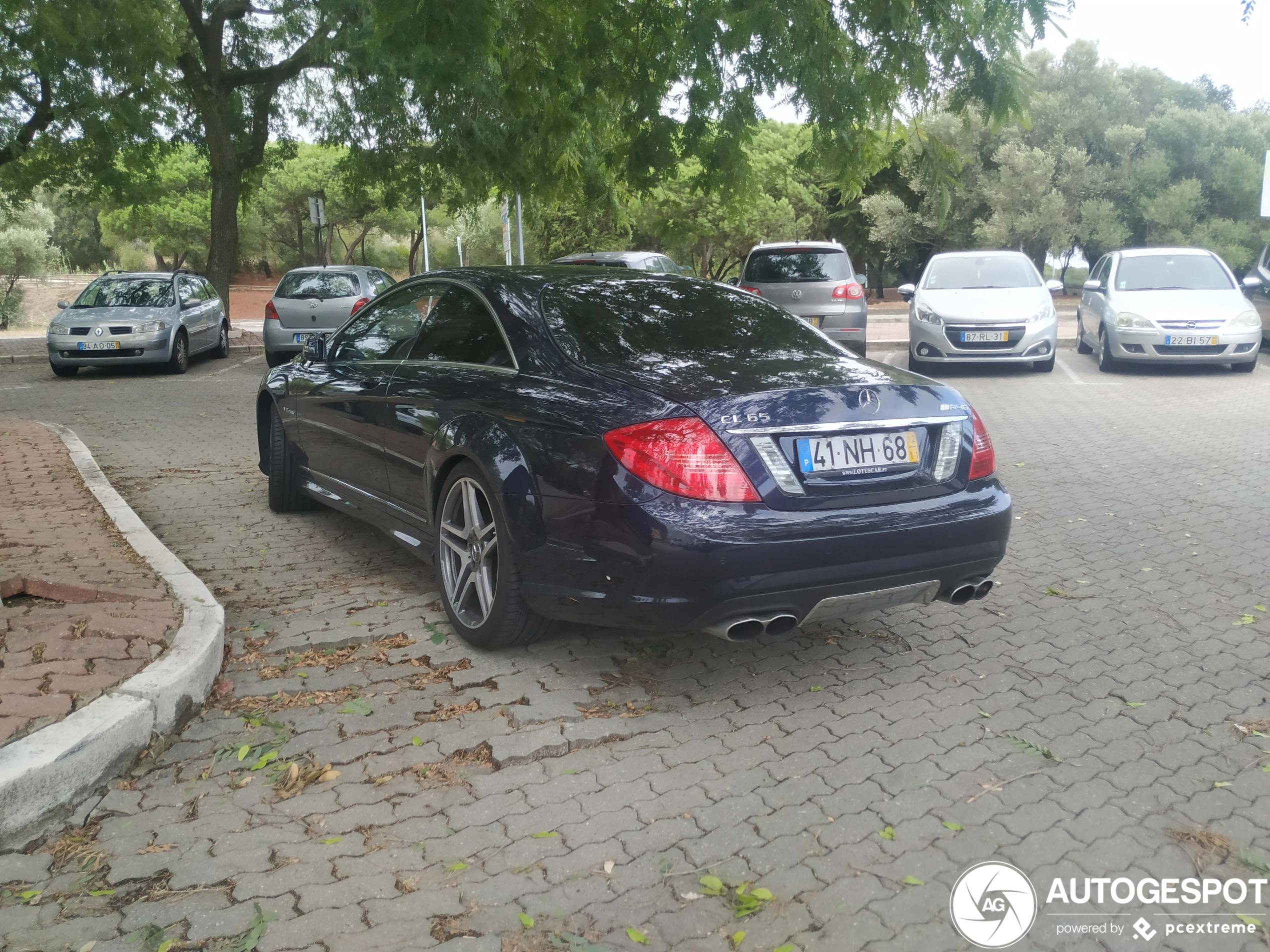 Uit het straatbeeld verdwenen: Mercedes-Benz CL 65 AMG