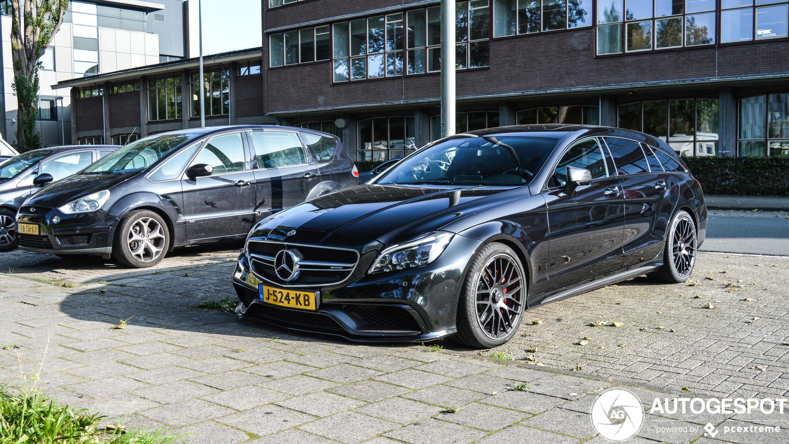 Mercedes-AMG CLS 63 Shooting Brake blijft een schoonheid