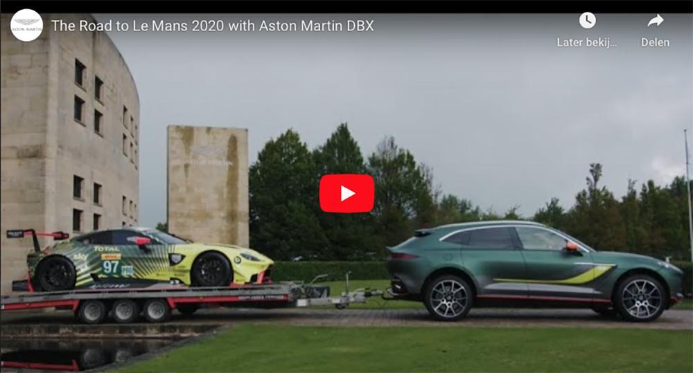 Filmpje: Aston Martin DBX is ultieme autotransporter