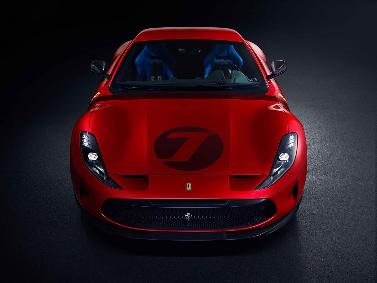 Ferrari Omologata: a new one-off creation