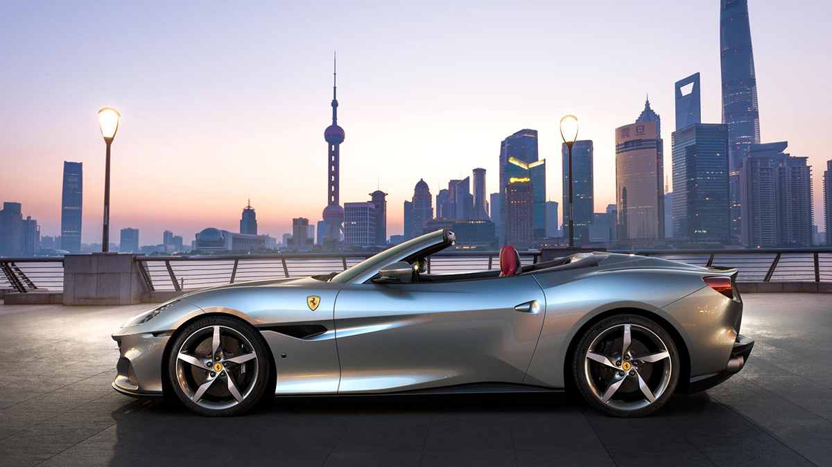 Ferrari toont vernieuwd Portofino M