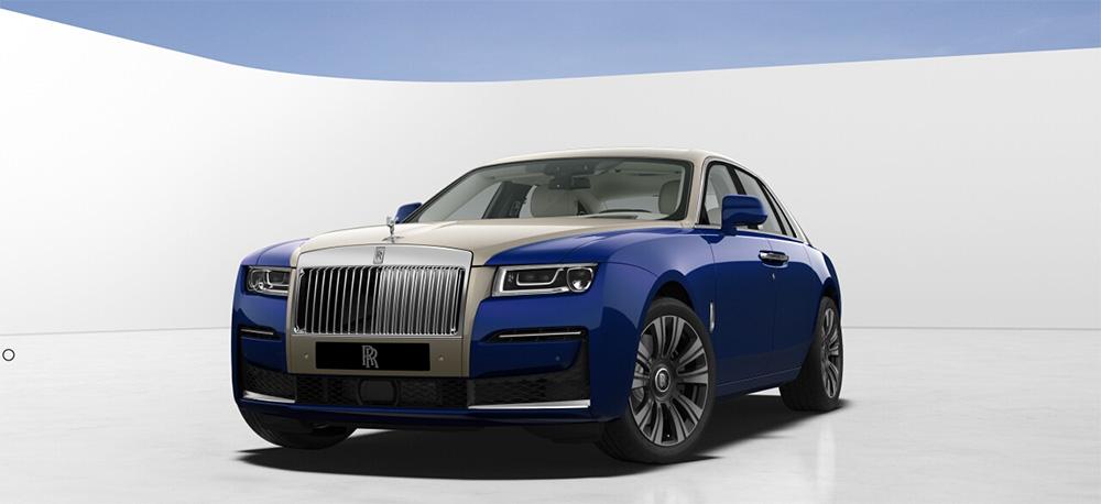 Speel nu met de configurator van de nieuwe Rolls-Royce Ghost