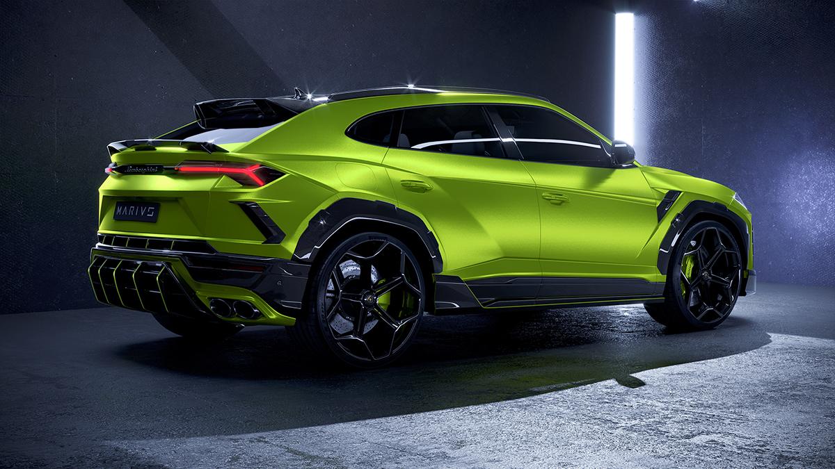 Marius Designhaus launches first project: Lamborghini Urus MD1