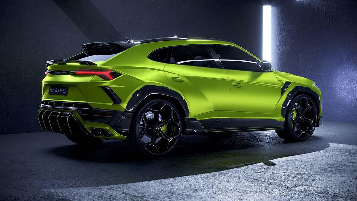 Marius Designhaus launches first project: Lamborghini Urus MD1