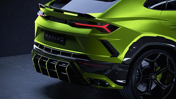 Marius Designhaus lanceert eerste project: Lamborghini Urus MD1