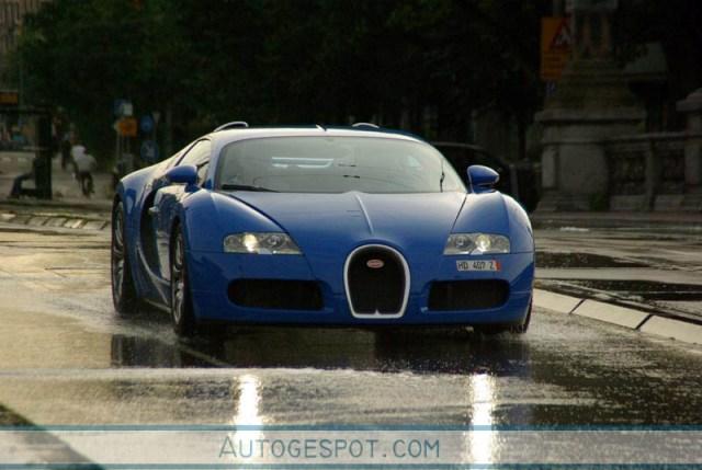 Alle kleuren van de regenboog: Bugatti Veyron 16.4