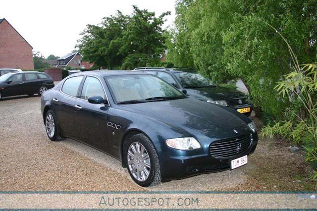 Auto's herkennen: Maserati Quattroporte