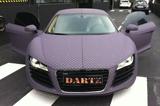 Dartz maakt wrappen weer leuk: Audi R8 met paars schaakbord