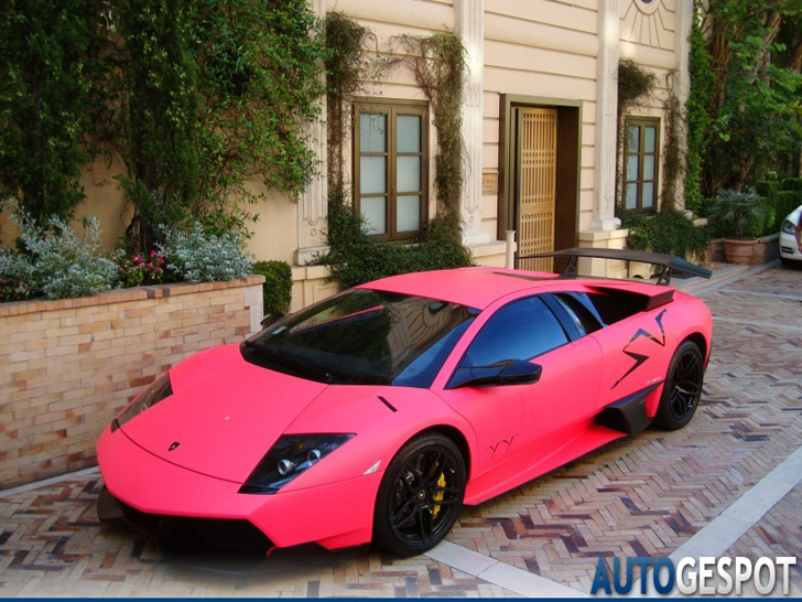 Alle Kleuren Van De Regenboog Lamborghini Murci 233 Lago
