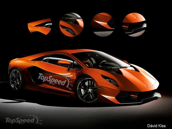 It Promises To Be A Beauty Lamborghini Cabrera Rendering