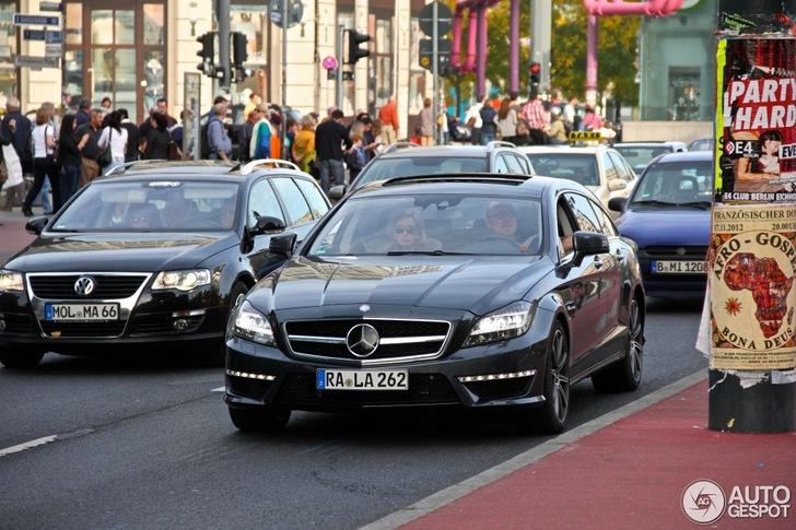 Voor de tweede keer gespot: Mercedes-Benz CLS 63 AMG Shooting Brake