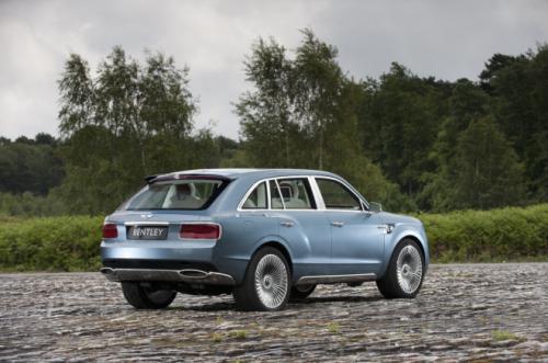 Bentley EXP 9 F Concept mogelijk nog dit jaar in nieuwer jasje