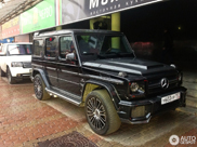 Mansory G63 AMG Russia Limited Edition avvistata a Mosca: