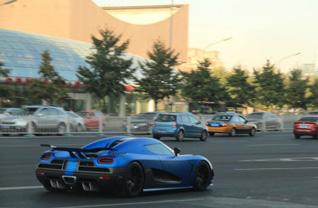 Koenigsegg blijkt populair in China: andere Agera gespot in Beijing!