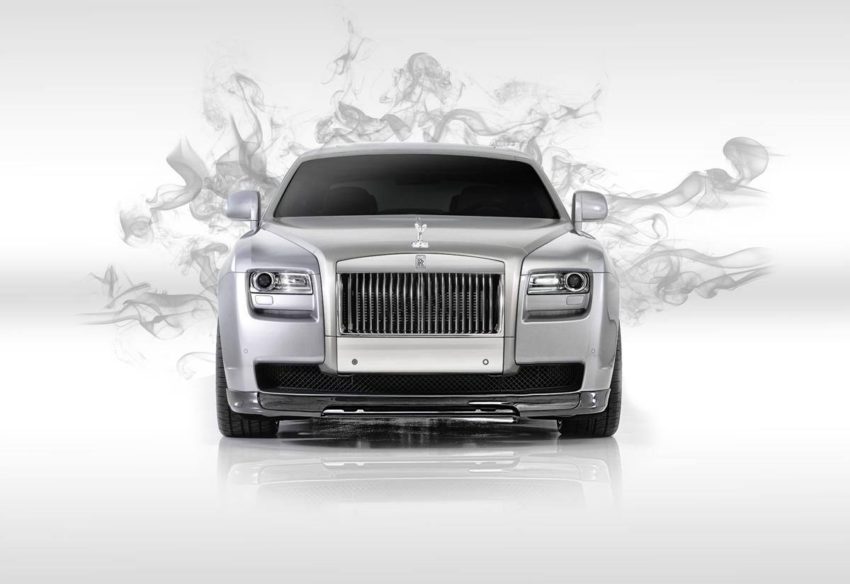 Passend bij de doelgroep: Rolls-Royce Ghost door Vörsteiner