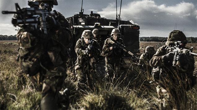 Infanterist Bij De Landmacht