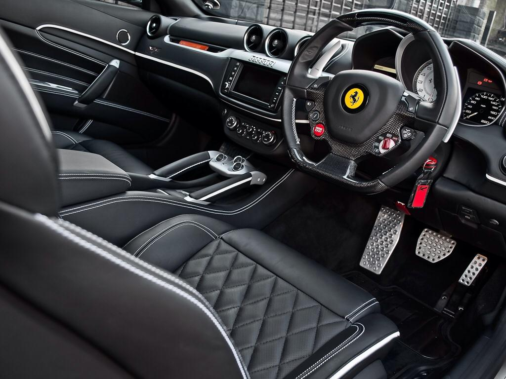Stylish And Businesslike Ferrari Ff With Details By