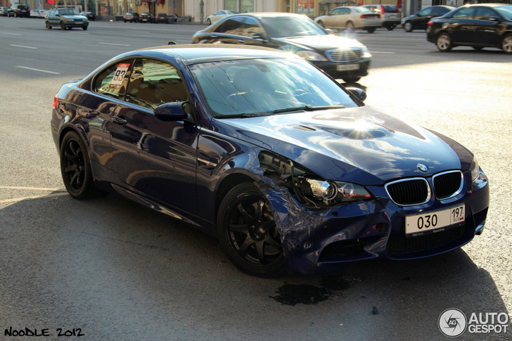 Mega Bmw Crash In Russia The Aftermath