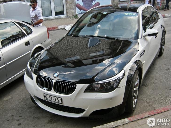 BMW M5 E60 wil een zebra zijn