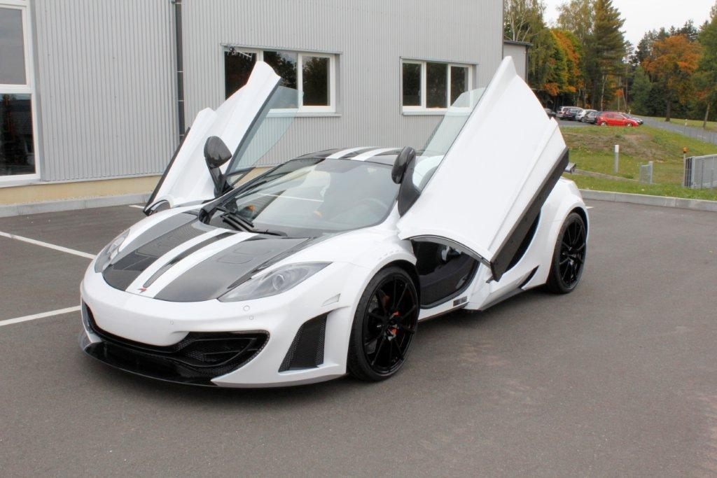 mansory mclaren mp4-12c is a real tough one